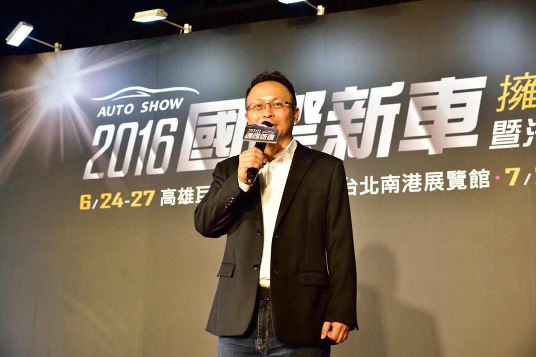 本次展覽由經濟日報與車輛代理商公會共同舉辦。 記者彭奕翔 / 攝影