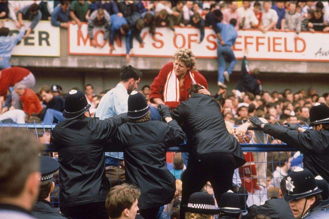 1989年希爾斯堡球場慘案。 圖/美聯社