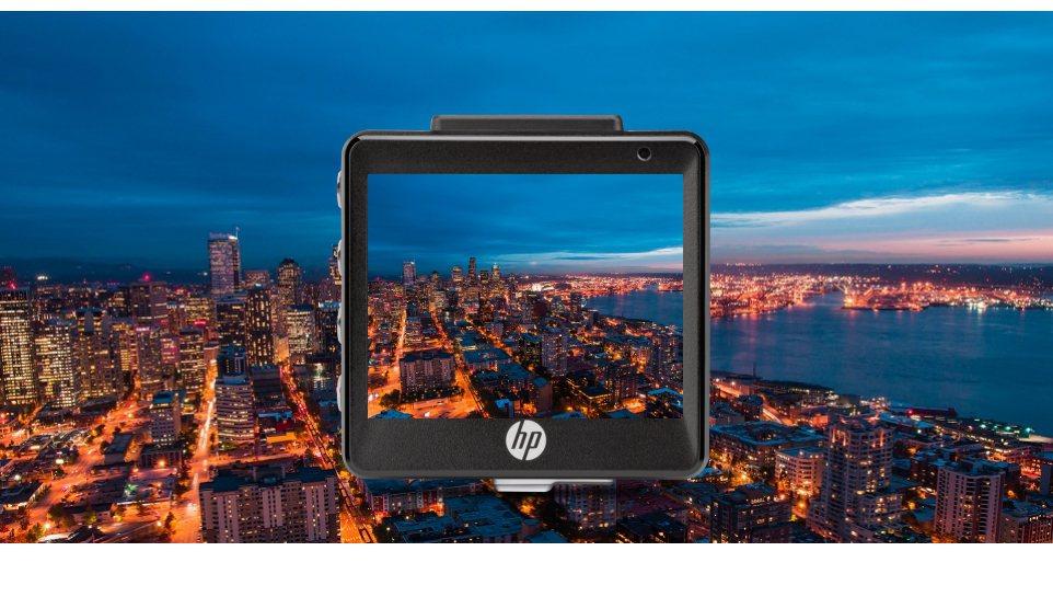 HP f550g採用F1.8大光圈,讓受光量大幅提升,即使在夜晚或陰雨的場景中,依然能拍出高精細影像。 圖/群光電子提供