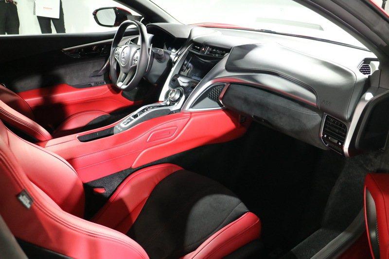 油電超跑Honda NSX。 記者史榮恩/攝影