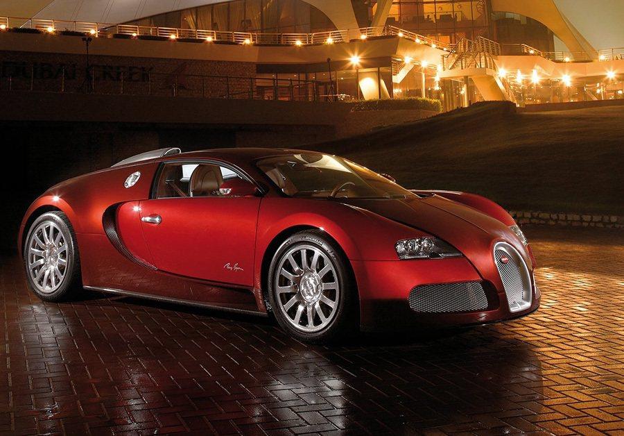 正港的外型果然不同凡響! Bugatti提供