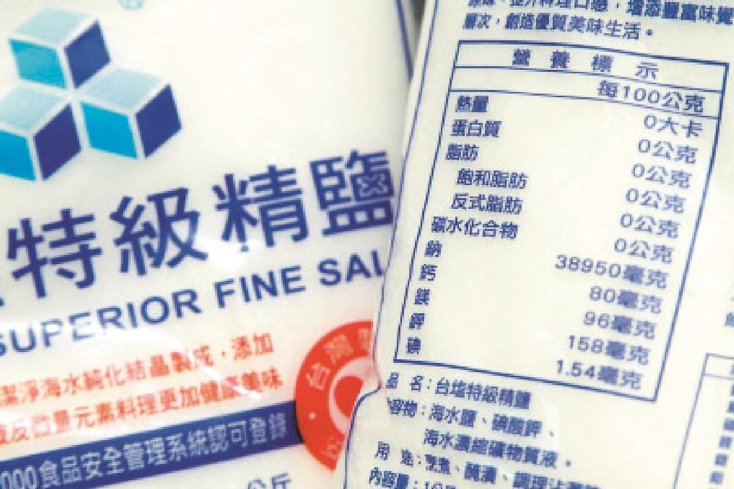 食鹽鼓勵加碘 凸眼族憂心吃太多 報系資料照