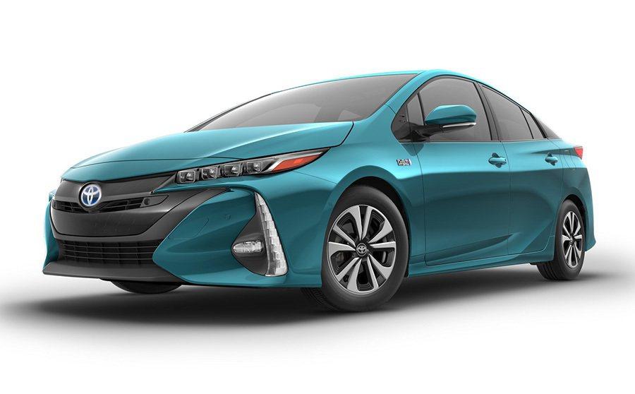 北美市場販售的 Prius Prime車型。 Toyota提供