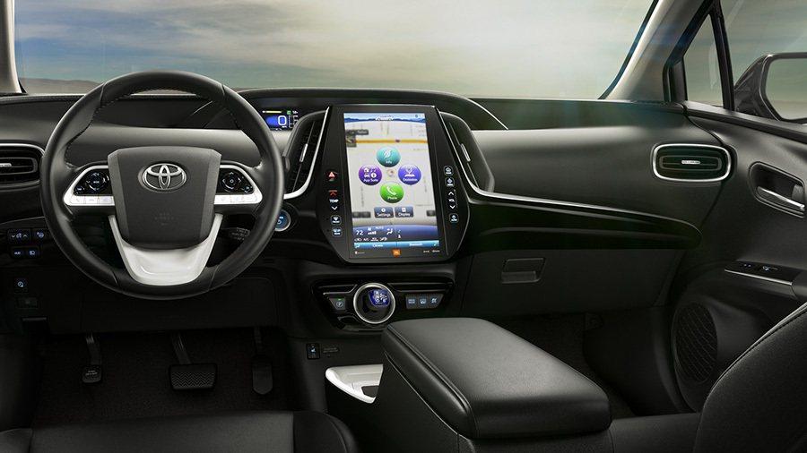 北美市場販售的Prius Prime車型。 Toyota提供