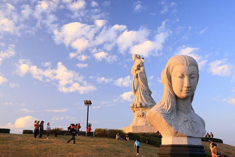 台南林默娘公園。 圖/取自台南市政府工務局