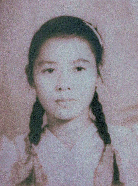 田中實加外婆田中櫻代19歲在台灣拍攝的照片。圖/遠流提供