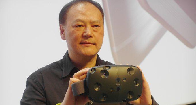 周永明轉選VR,發表5D Totalmotion。 報系資料照