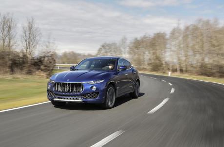 搭載法拉利渦輪V8的Maserati Levante GTS休旅現身了!