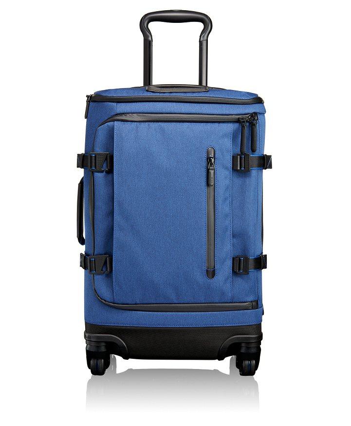 Tumi藍色Tahoe Gardner20吋拉桿箱,28,500元。圖/Tumi...