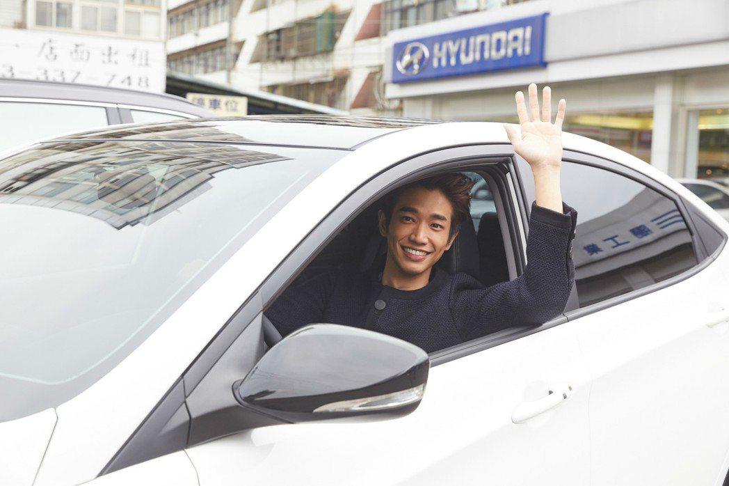 VERNA是劉以豪人生的第一台車,自從擁有VERNA之後,他更享受開車時恣意遨遊的樂趣。 圖/南陽實業提供