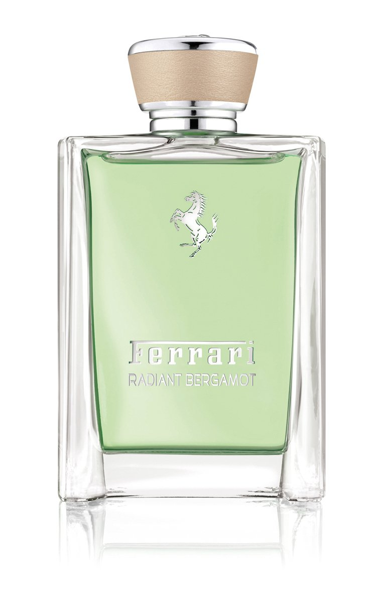 法拉利菁英系列佛手柑淡香水、100ml/3,350元。圖/法拉利提供