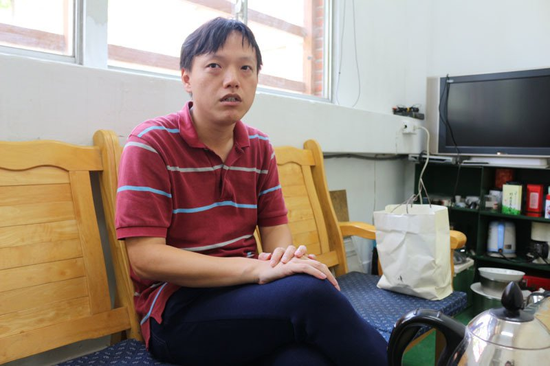學歷和技職教育完全搭不上邊的吳杰穎,如今卻培訓出多名得獎選手。圖/林佳瑾攝