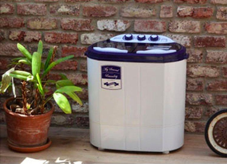 離心脫水小型洗衣機。圖/樂天市場提供