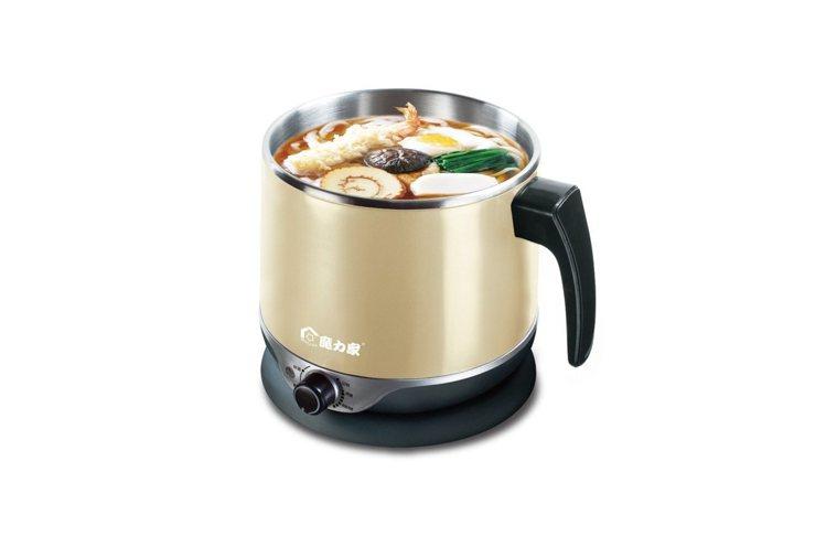 魔力家雙層隔熱防燙快煮美食鍋。圖/PChome24h購物提供