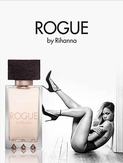 """蕾哈娜Rouge香水 這款名為""""Rogue""""的香水,是蕾哈娜推出的第四款香水,..."""
