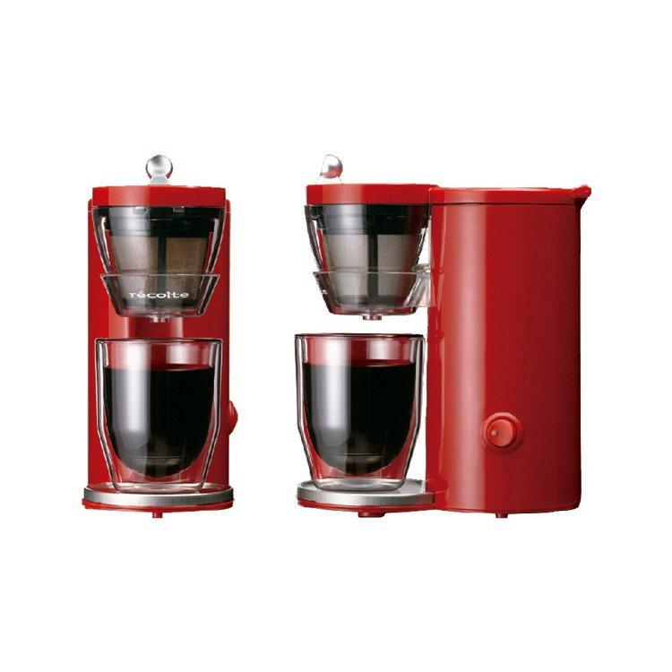 日本麗克特單杯咖啡機。圖/PChome24h購物提供