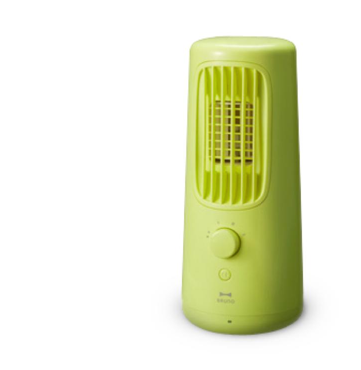 日本BRUNO迷你移動電風扇。圖/momo購物網提供