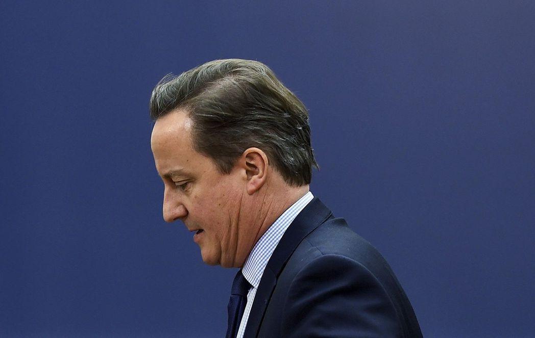 英國首相卡麥隆宣布辭職。(路透)