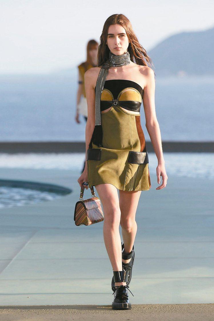 LV早春新裝以巴西藝術家的作品為靈感,充滿藝術氣息。 圖/LV提供