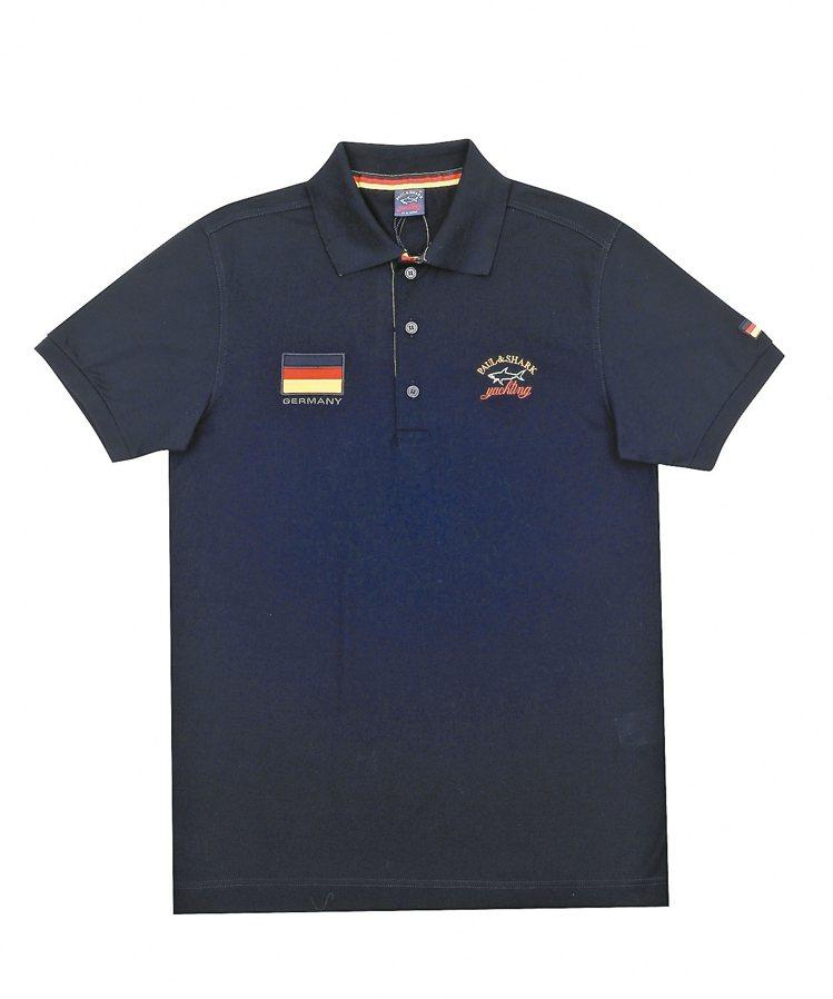 Paul & Shark巴西奧運POLO衫,德國隊8900元。 圖/Paul &...