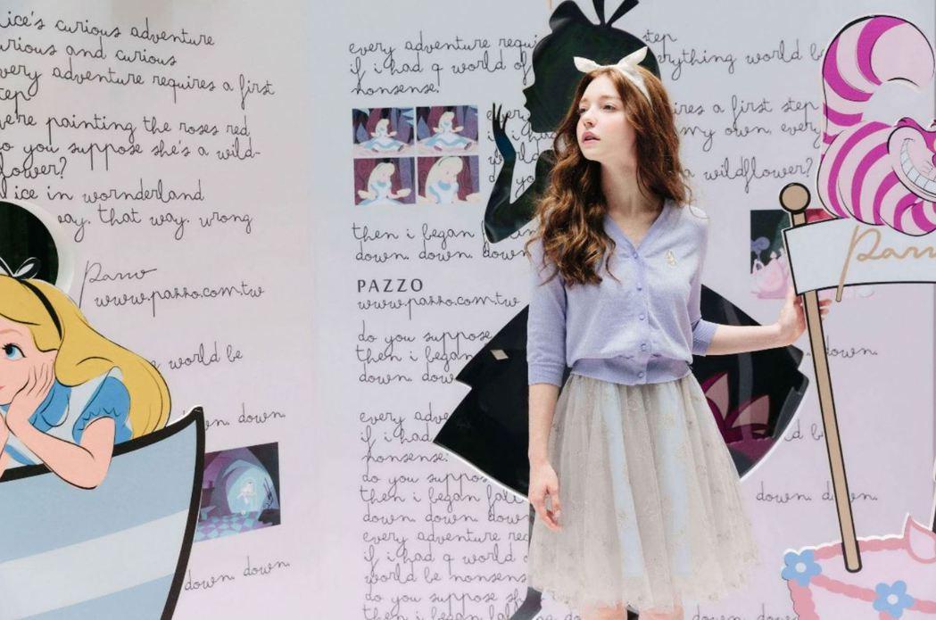 台灣知名平價服飾品牌,經常請外國模特為品牌拍攝。 圖/品牌提供。