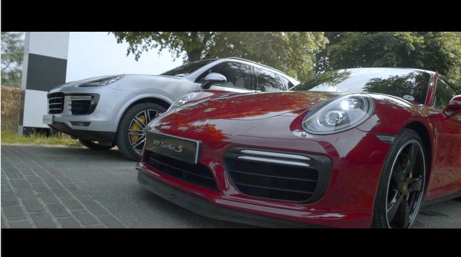 休旅車對上跑車當然贏面不大,只是Cayenne強大的實力仍然不容小覷。 截自Porsche影片