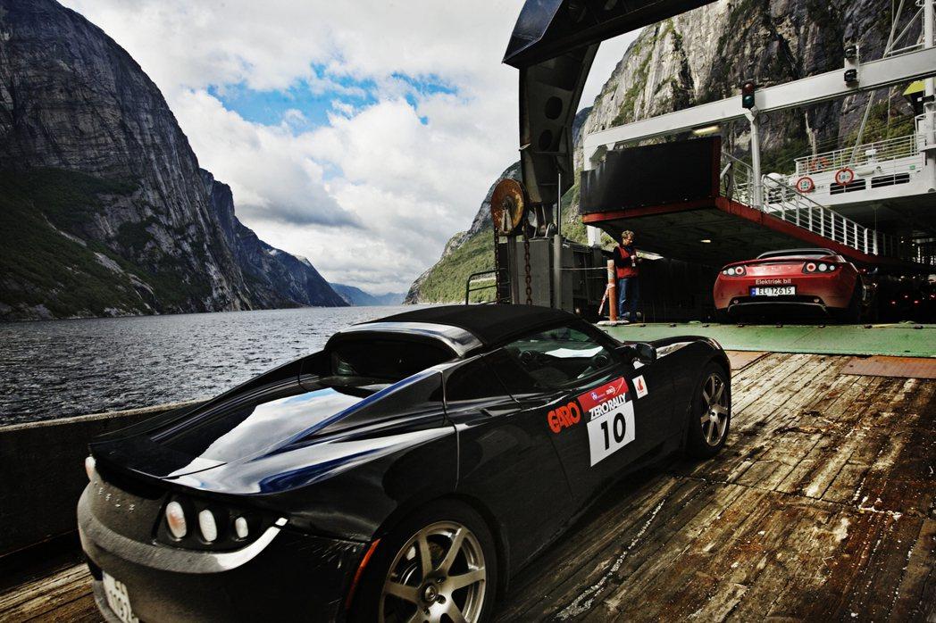 全球車廠只要推出電動車,挪威就是他們的海外市場首選之一。圖為2010年由倡議團體...