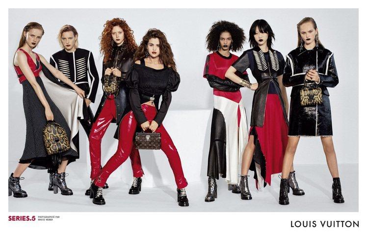 賽琳娜戈梅茲為LV拍攝2016秋冬系列廣告「Series 5」,率眾女英豪展現女...