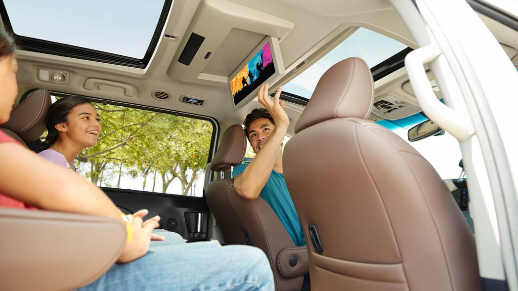 Toyota Sienna讓家中每位成員都變成VIP。 圖/TOYOTA提供