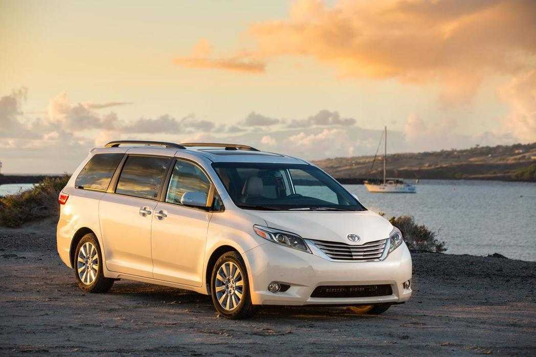 Toyota Sienna是兼具家庭與商務的車款。 圖/TOYOTA提供