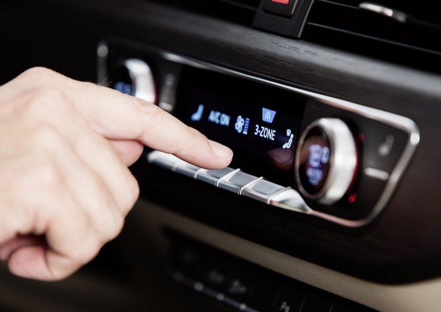 全新Audi A4車系標配頂級空調系統,特製濾網可有效隔絕髒污。 Audi提供