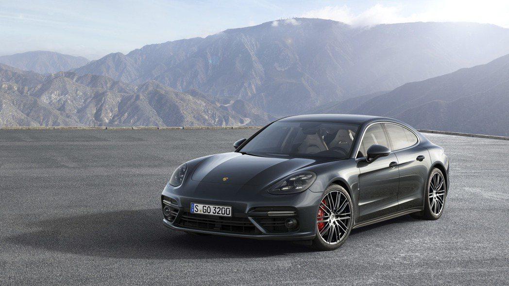 新一代Panamera。 圖/Porsche提供