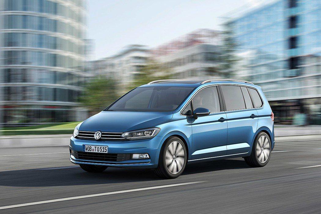 Volkswagen Touran。 圖/Volkswagen提供