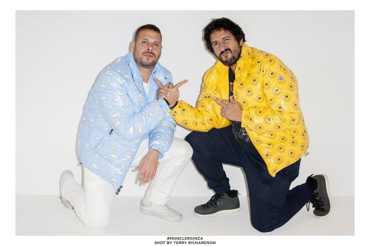 (左至右)FWY雙人藝術家Samuel Borkson與Arturo Sando...
