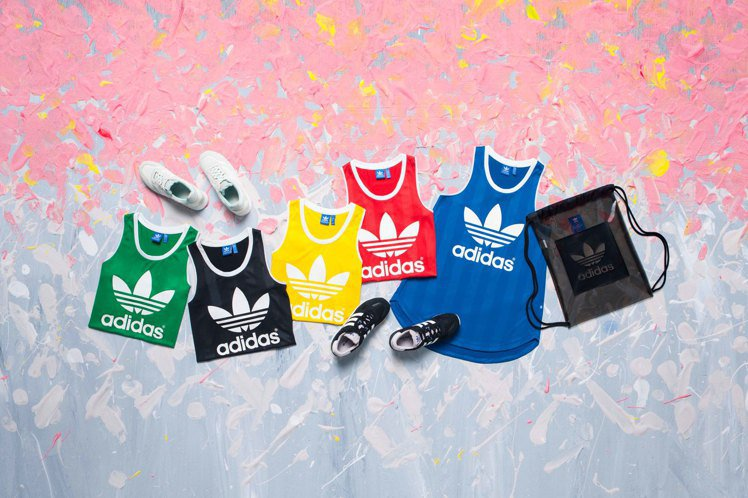 adidas Originals以奧運發想全新的夏季新品。圖/adidas Or...