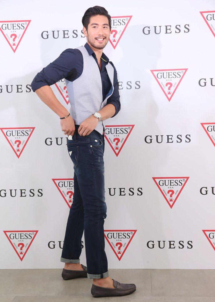 美國時尚服飾品牌GUESS昨天在台北Att 4 FUN舉行GUESS旗艦店開幕記...