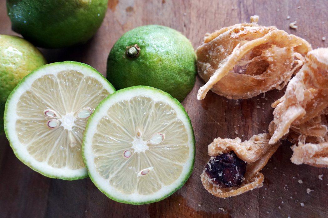 加了酸梅的檸檬乾,別有滋味。 圖/朱慧芳