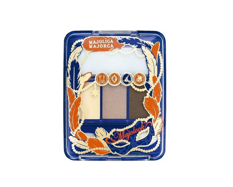 Majolica Majorca戀愛魔鏡魔女幻彩眼影盒,售價330元。 圖/業者...