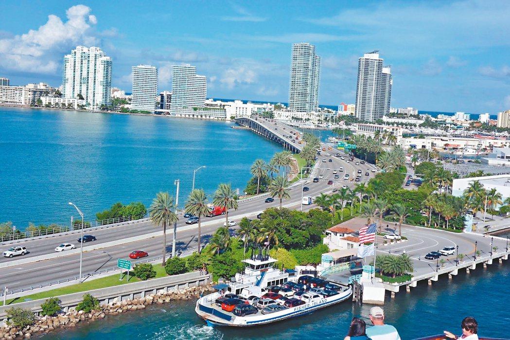 圖為美國邁阿密。