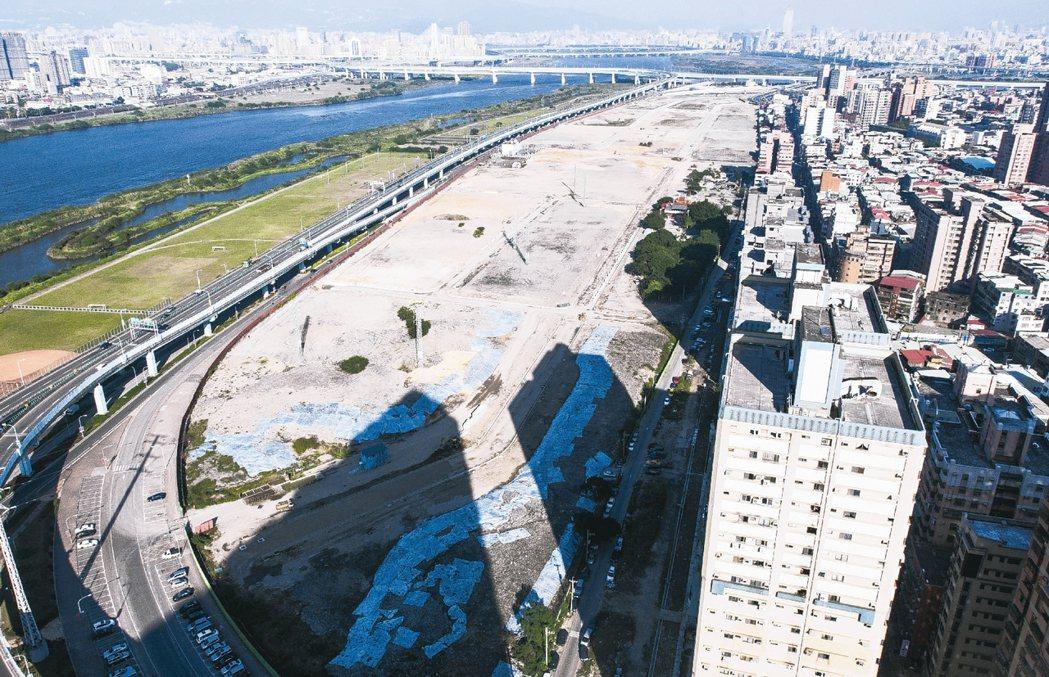 新北市板橋區江翠重劃區 本報系資料庫