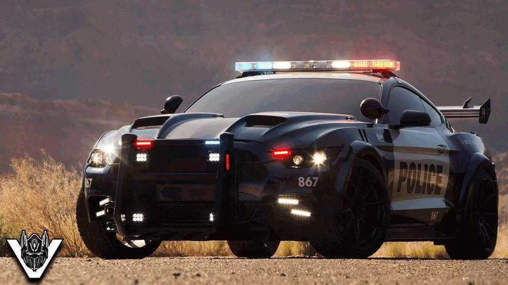 全新變形金剛5:最後騎士,劇中也預計將以Ford Mustang飾演險惡的反派角...