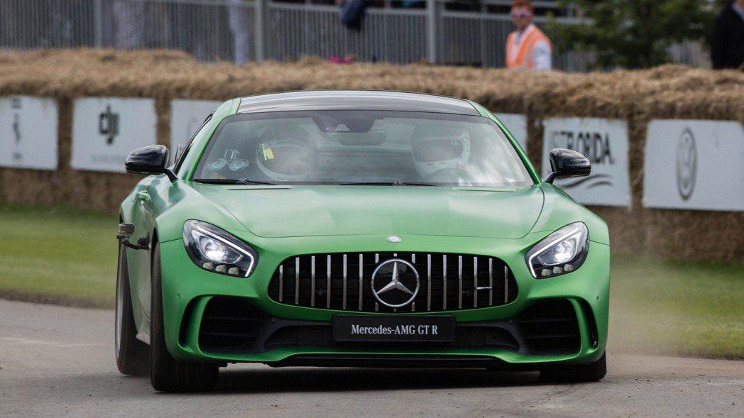 甫於Goodwood Festival of Speed亮相的M.Benz AM...