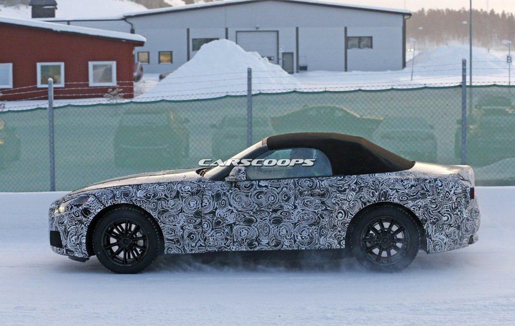 BMW Z5間諜照 裁自carscoops.com