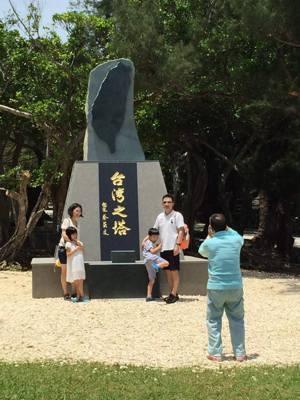 6月25日落成的台灣之塔直切台灣二戰期間的歷史爭議,也牽動周邊國家的關係。 照片/許光輝提供