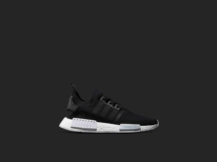 adidas Originals NMD R1 Primeknit-黑。圖/ad...