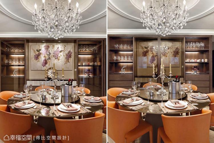 ▲在美感的表現上,融入多元材質、光影搭配,襯托出新古典結合時尚的新風格。