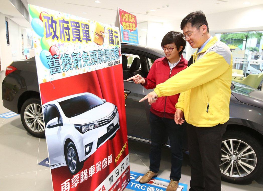 七月份買車,有機會可以獲得更好的購車優惠及價格。 記者陳柏亨/攝影