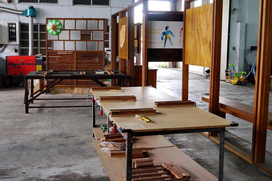 北港春生活博物館也提供DIY木工體驗。 記者陳威任/攝影