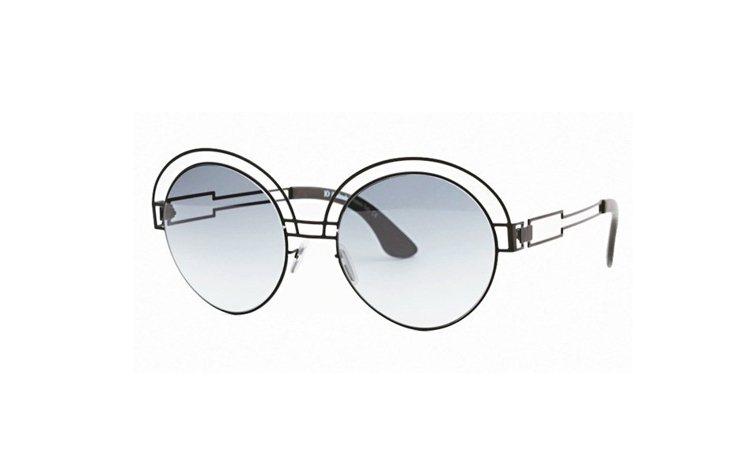 IO ETHICAL ITALIAN EYEWEAR幾何造型太陽眼鏡,11,80...