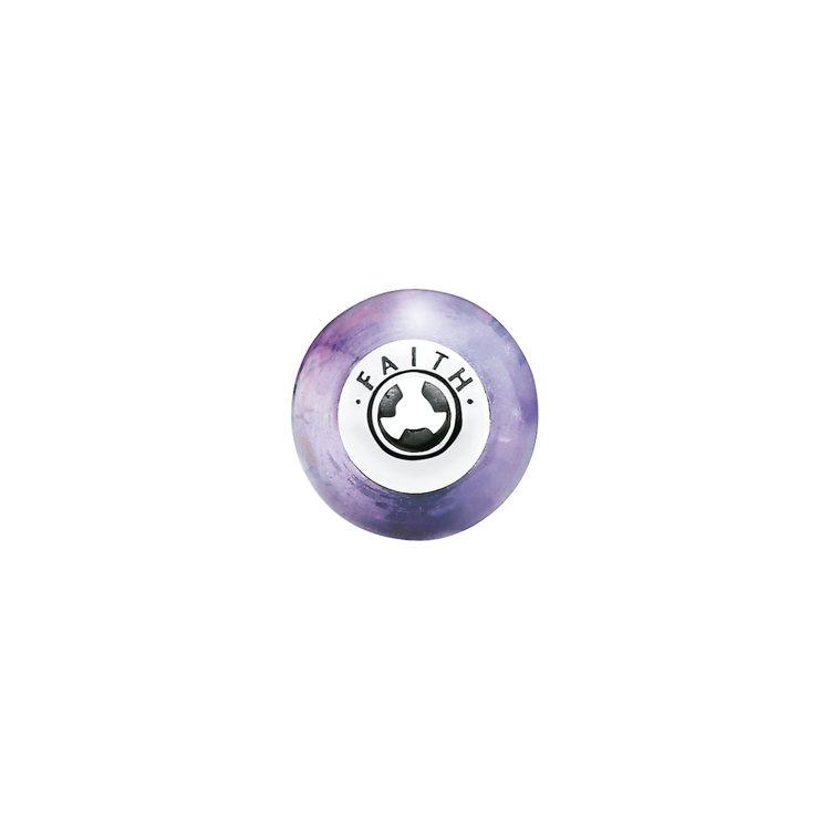 ESSENCE系列串飾信念Faith,以紫水晶表示堅定的信念,1,780元。 圖...